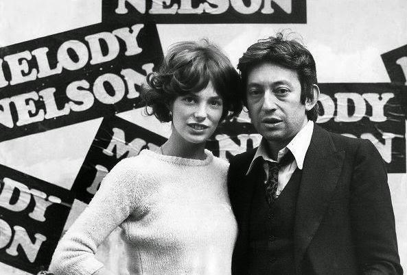 Jane Birkin et Serge Gainsbourg.