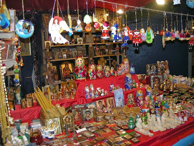 Christmas Store with Xmas Decorative Stuffs