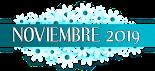 Novedades de noviembre 2019