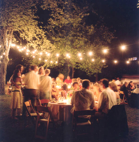 Outdoor Party Lights Au: It's A DIVINE World: Featured Item