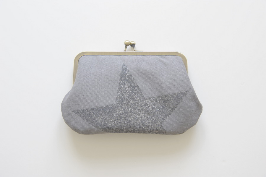 large wallet grey star
