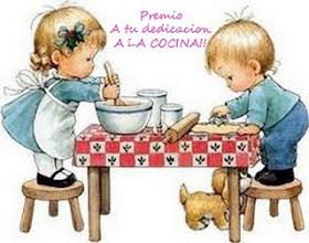 """Premio """"A tu Dedicación a la Cocina"""""""