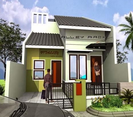 contoh desain rumah yang bagus untuk dicoba desain denah
