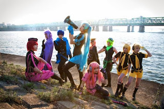 Cosplay of Vocaloid Love is War