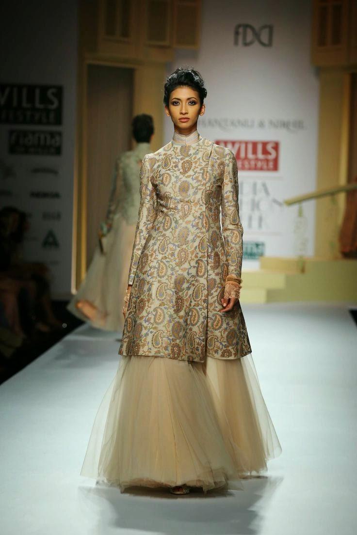 Shantanu Nikhil Show At Wills Lifestyle India Fashion Week 2014 Vega Fashion Mom