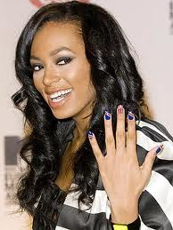 Solange knowles nails aet designs