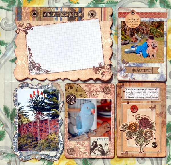 Misc. Me Spread by Denise van Deventer using the Misc. Me Provence Collection