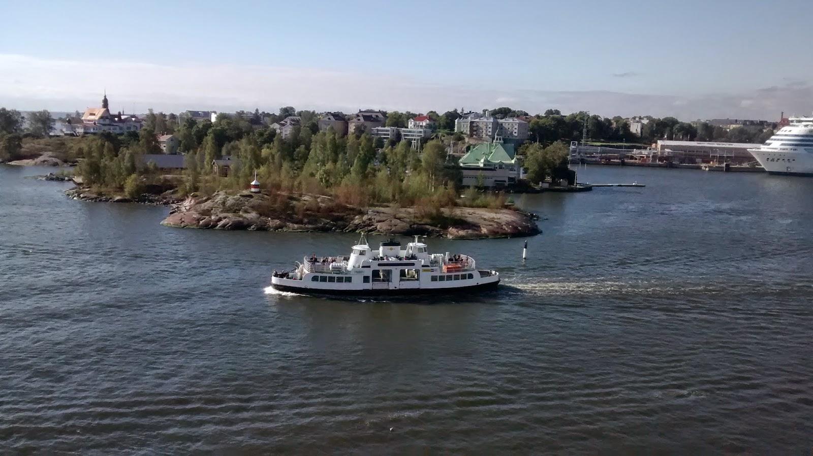 Viagem de navio para Tallinn - Estônia