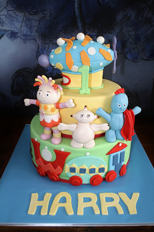 Sandys Cakes Harrys In The Night Garden For His 1st Birthday