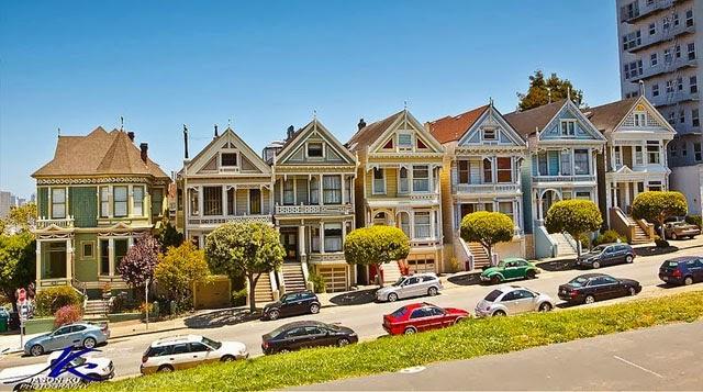 Las Damas Pintadas de San Francisco, EE.UU.