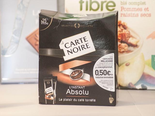 carte noire, café, avis, l'instant absolu, dosette, degustabox, box, alimentaire