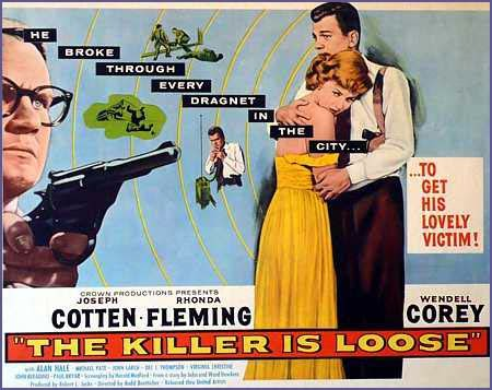 El asesino anda suelto | 1956 | The Killer is Loose | Dvd Cover | Caratula