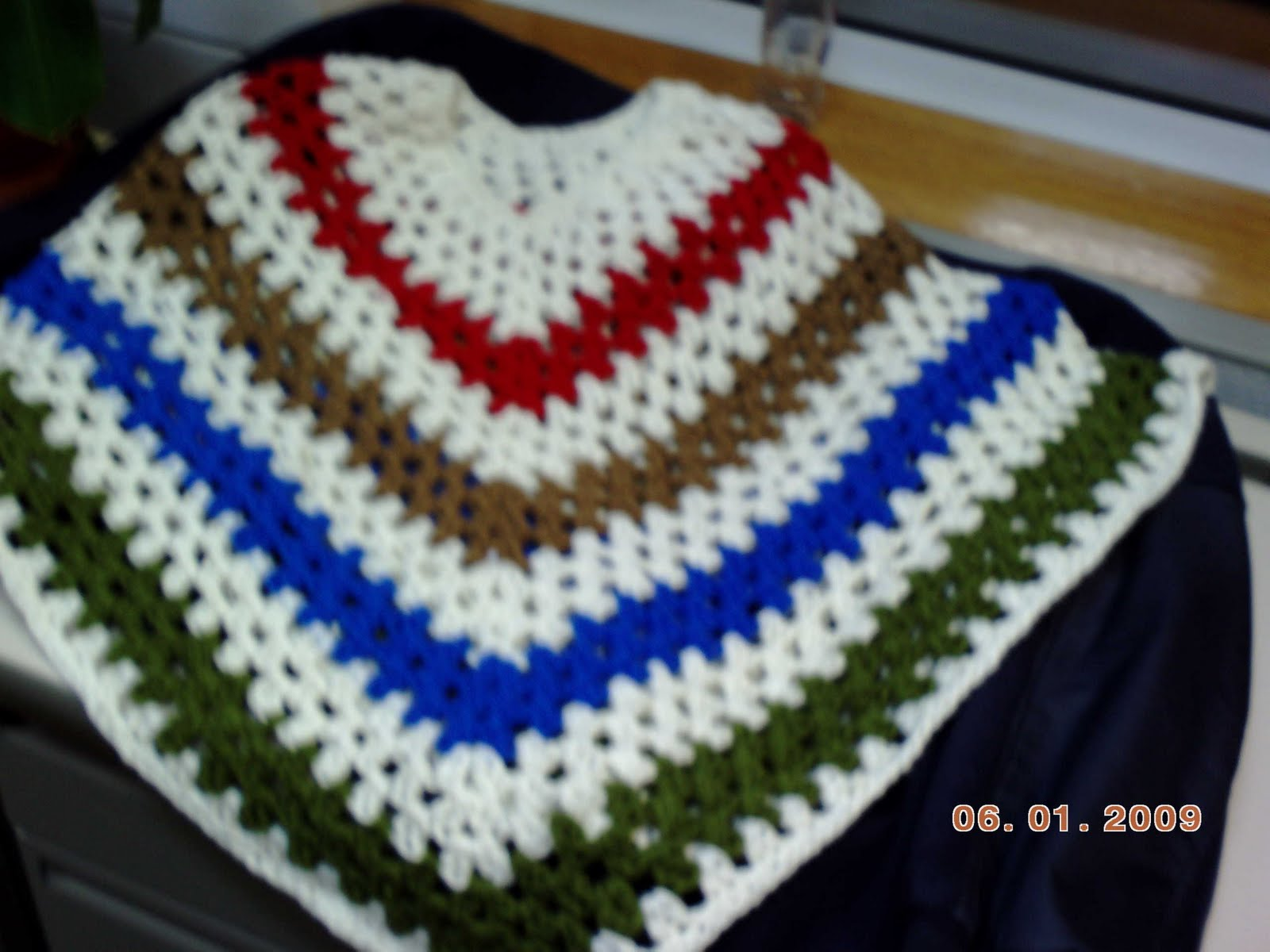 Crochet Poncho | - Welcome to the Craft Yarn Council and Warm Up