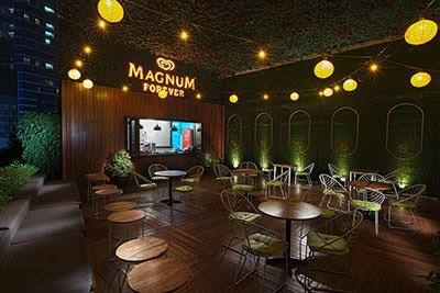 COOL : Kafe Aiskrim Magnum Di Indonesia