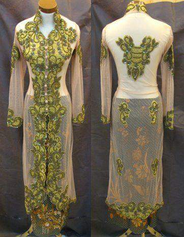 di bawah ini saya share beberapa gambar model baju kebaya modern