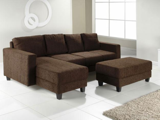 Escolhendo o sof ap em decora o for Sofas com chaise e puff