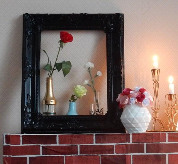 Saint Valentin au coin du (faux) feu
