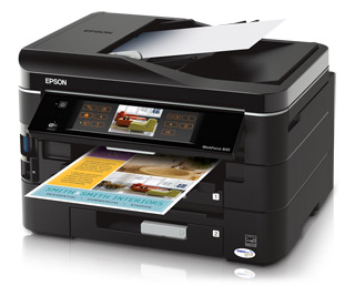 Epson Workforce 845 All In One Image