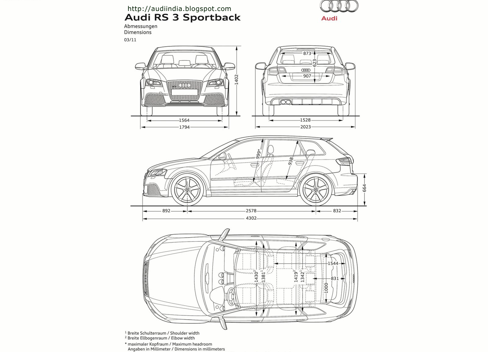 2012 audi rs3 sportback technical specifications wallpapers images the world of audi. Black Bedroom Furniture Sets. Home Design Ideas