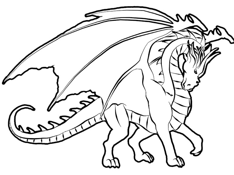 dragon coloring pages do you looking for a dragon coloring pages there  title=