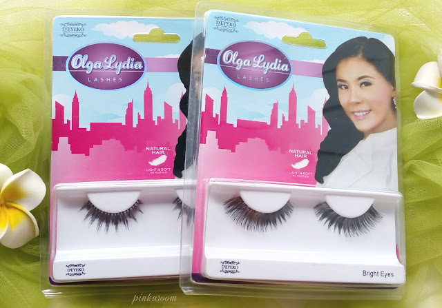 D'Eyeko Double Lash and Olga Lydia Eyelashes