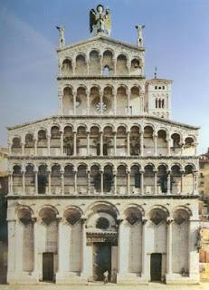 Italian Baroque Architecture-Roman Baroque style church Roman Jesus    Italian Baroque Architecture