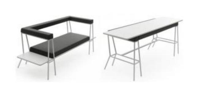 Como hacer un sillon mesa convertible (doble uso)