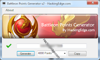 BattleOn Game Points generator