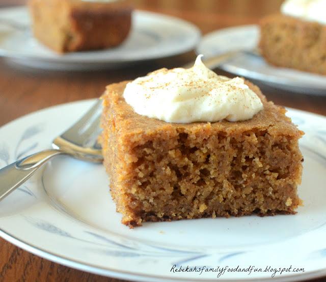 Family, Food, and Fun: Sweet Potato (or Pumpkin) Banana Cake