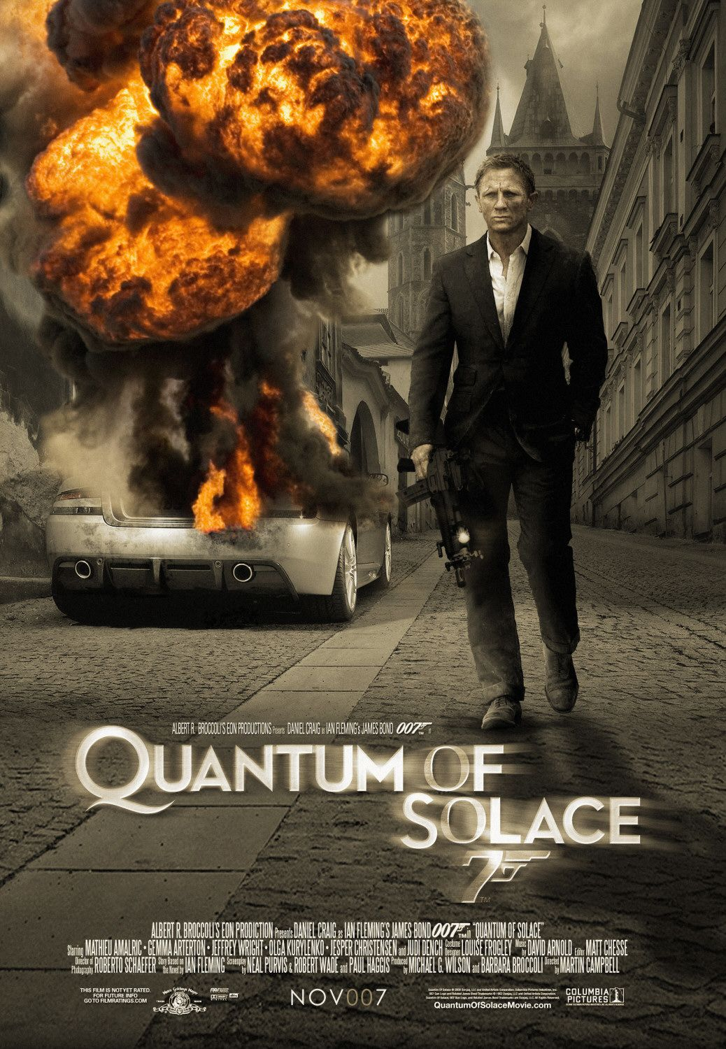James Bond Quantum Of Solace Poster Images & Pictures - Becuo