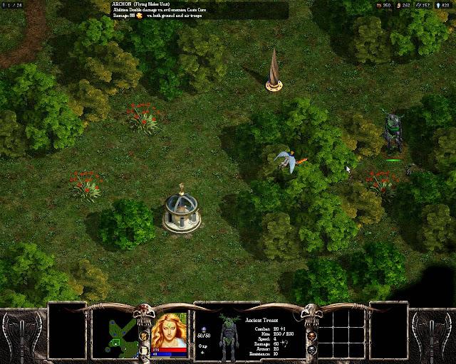Warlords Battlecry 3 - A Shrine and Quest Rewards Description.