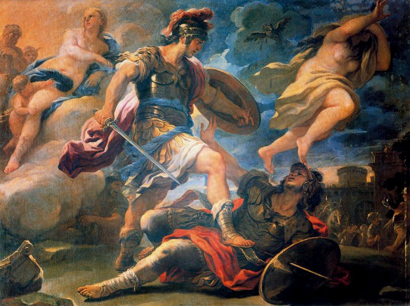 a comparison of aeneas and turnus in greco roman mythology Aeneas's was determined to lay a foundation in italy for the glory of the roman empire aeneas's greco-roman culture is both aeneas and turnus.