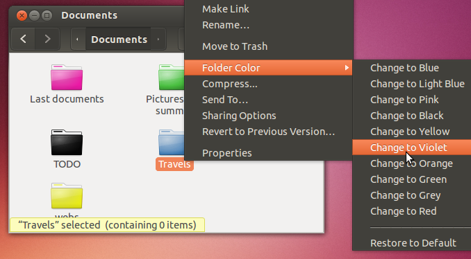 how to change the colour of folders mac