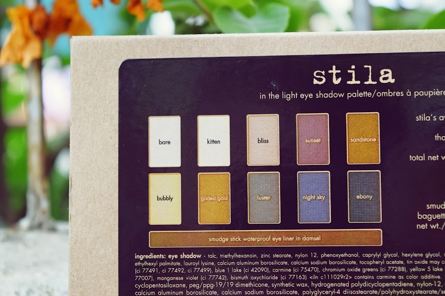 Stila 'In The Light' Palette