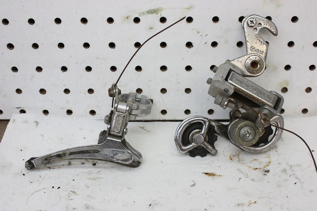 Schwinn Derailleur Parts : John s bicycle restorations schwinn sports tourer