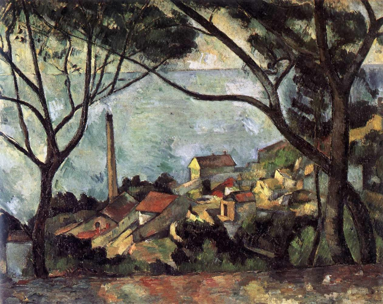 paul cezanne Paul cézanne road in provence watercolour and graphite on tan wove paper x cm art institute of chicago il find this pin and more on paul cezanne by justin farmer cezanne watercolor.