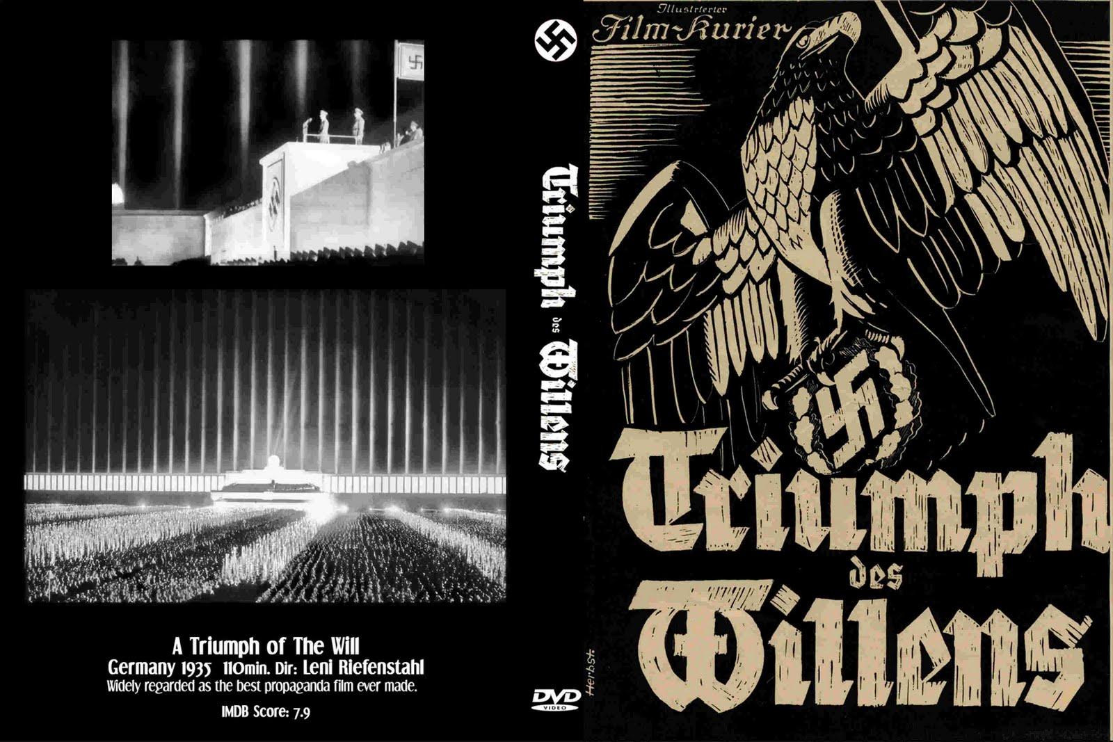 review of nazi propaganda film triumph Triumph of the will (triumph des possibly the most powerful propaganda film ever (1940) is an antisemitic german nazi triumph of the nerds: the rise.