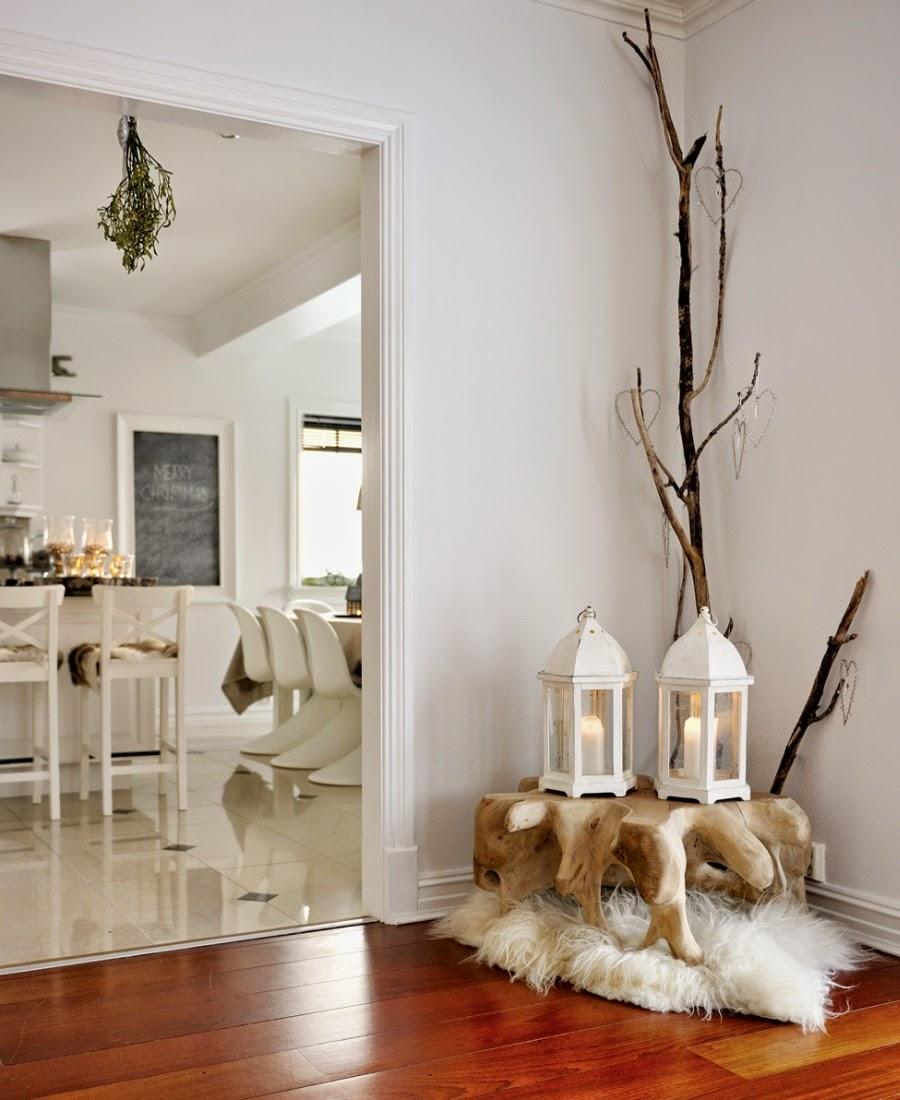 wystrój wnętrz, home decor, wnętrza, urządzanie mieszkania, scandi, nordic, styl skandynawski, święta, Boże Narodzenie, dekoracje świąteczne, latarenka, lampion