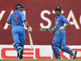 Rohit-Sharma-Suresh-Raina-India-vs-Srilanka-Tri-Series-2013