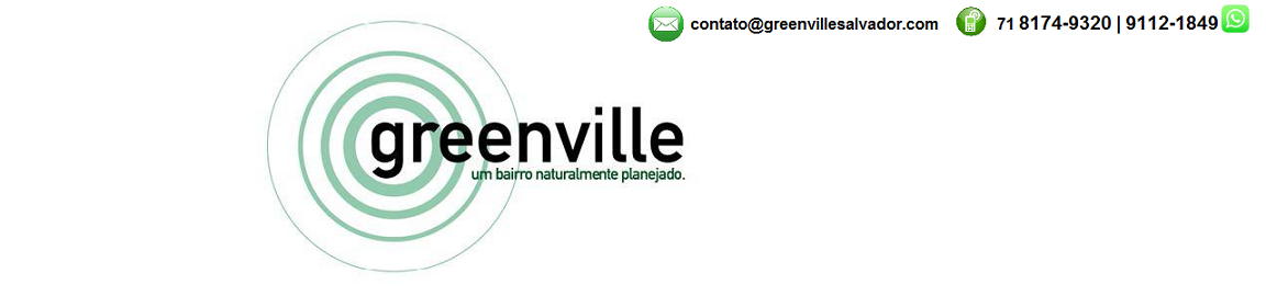 GREENVILLE SALVADOR - 3 ou 4 quartos - 88m² a 276m².