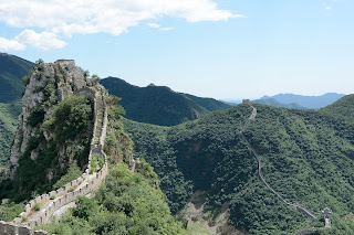 Long view of the Great Wall at Lianyunling