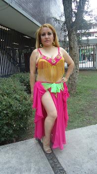 vestuario fiusha danza arabe