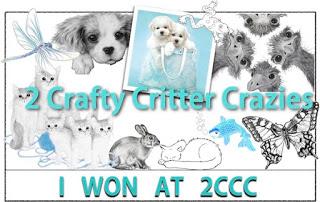 2 Crafty Critter Crazies Winner