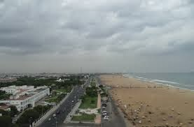 A View From Chennai Light House Gallery