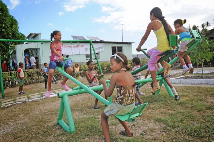Los niños, la alegría de toda Cuba y de Guantánamo...