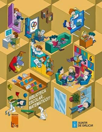 Cartaz 2014 Bibliotecas Escolares