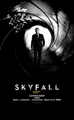 Skyfall 007 2012 Movie Poster
