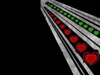 Heart Road Love Wallpaper