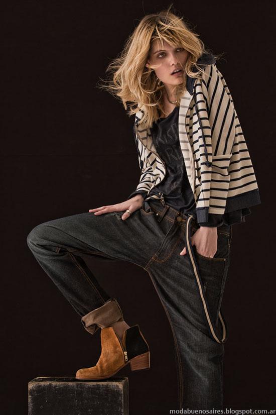Rpa de mujer moda invierno 2015 basicos urbanos.