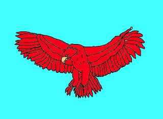 legendary bird drawing